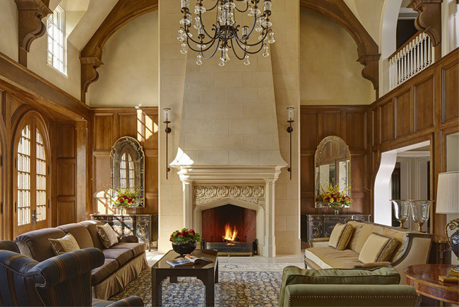 Điểm danh vài mẫu lò sưởi cực thích hợp cho phòng khách gia đình thêm phần ấm cúng - Ảnh 4.