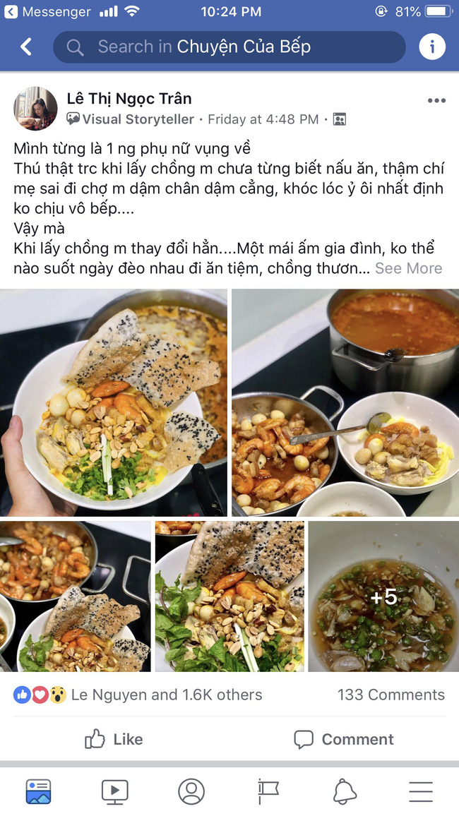 Cách nấu mì Quảng này có gì mới lạ mà hút ngàn like từ các chị em? - Ảnh 1.