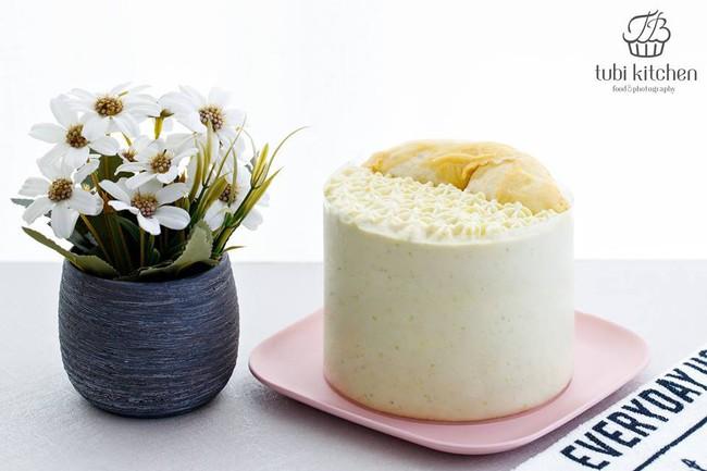 Đây là công thức bánh kem sầu riêng khiến các chị em đứng ngồi không yên trong 2 ngày cuối tuần vừa qua - Ảnh 2.