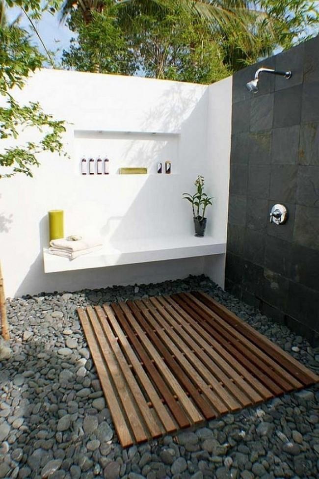 8 mẫu phòng tắm ngoài trời vừa đẹp vừa dễ để bạn biến cuộc sống tại nhà không khác gì ở các resort sang chảnh - Ảnh 8.