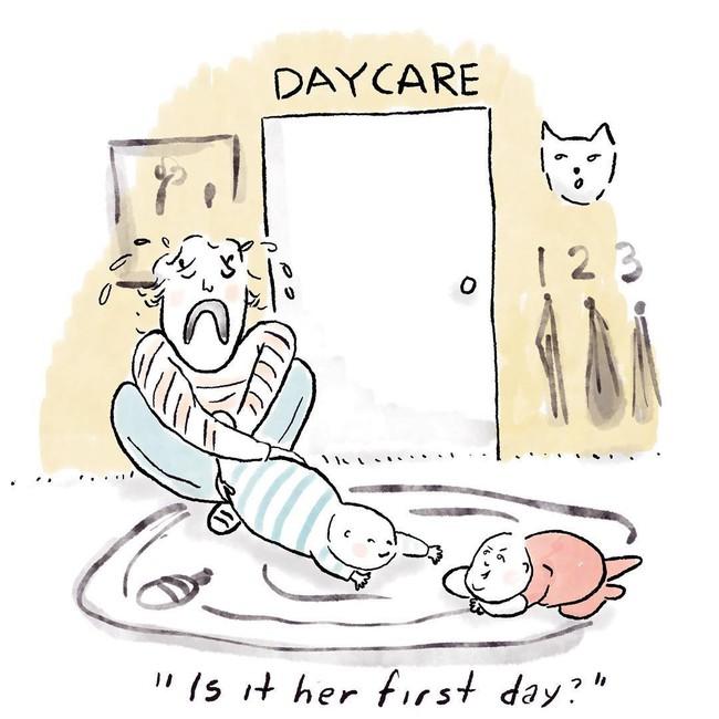 Bộ tranh hài hước về cuộc sống thường ngày của những bà mẹ bỉm sữa, ai xem xong cũng phải cười té ghế - Ảnh 8.