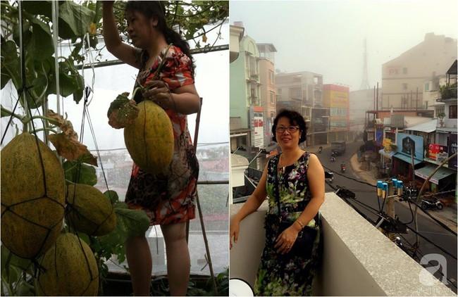 Khu vườn đủ loại rau xanh, trái ngọt không khác gì một trang trại thu nhỏ trên sân thượng của bà mẹ hai con ở Hải Phòng - Ảnh 20.