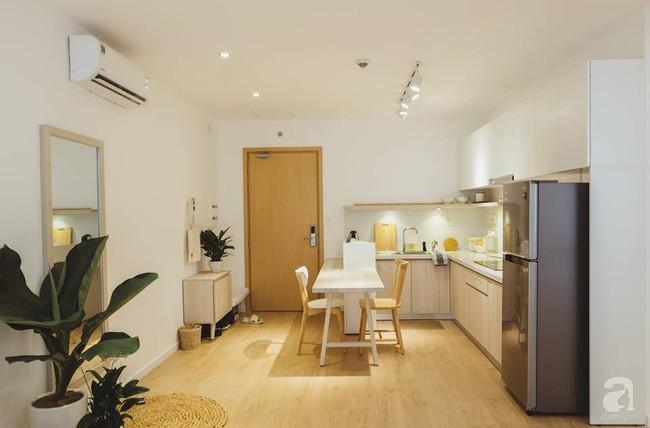 Căn hộ 63m² đẹp hút hồn nhờ thiết kế theo phong cách Nhật của chàng trai độc thân ở Sài Gòn - Ảnh 4.