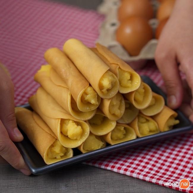 Có món bánh cuộn làm chẳng cần lò nướng mà ngon đẹp cực kỳ - Ảnh 6.
