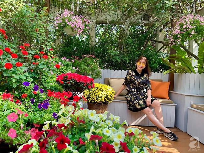 """Người phụ nữ tự lên ý tưởng cải tạo, thiết kế khu vườn sân thượng rộng 200m² thành trang trại """"trên không"""" vô cùng tươi tốt ở Sài Gòn - Ảnh 5."""