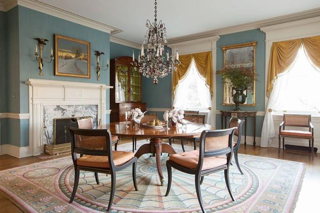 Không cần phải đắn đo nhiều vì bàn tròn luôn là lựa chọn tuyệt vời cho phòng ăn gia đình - Ảnh 10.