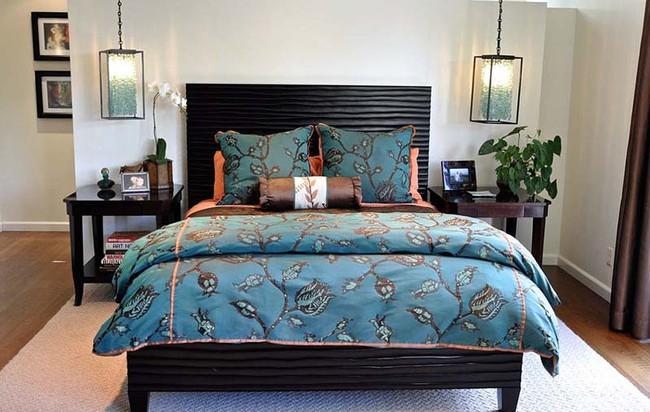 Thử mà xem phòng ngủ đẹp biết mấy nhờ đèn thả trang trí - Ảnh 3.