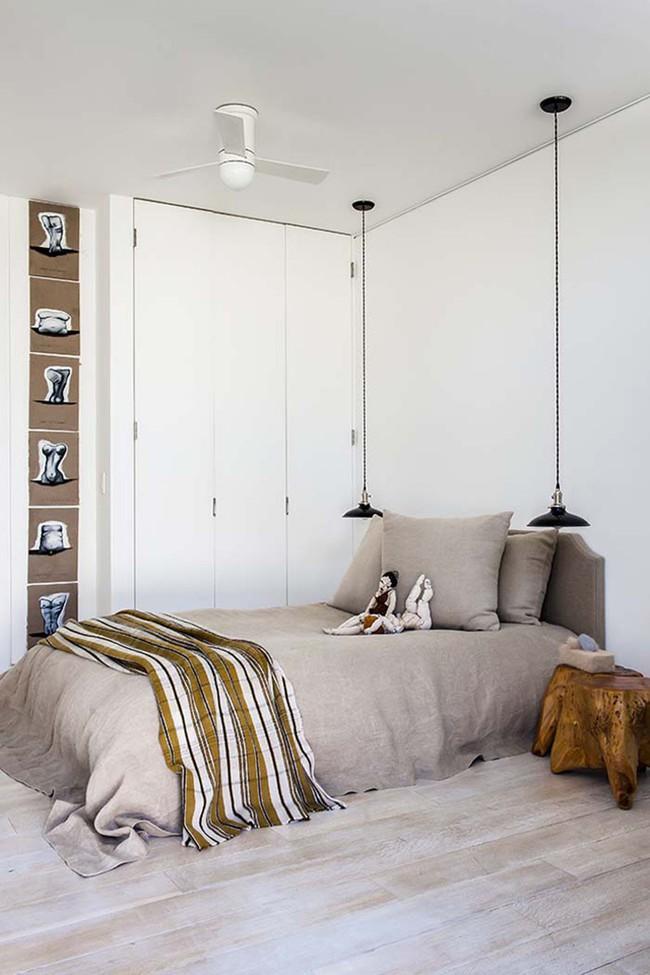 Thử mà xem phòng ngủ đẹp biết mấy nhờ đèn thả trang trí - Ảnh 9.