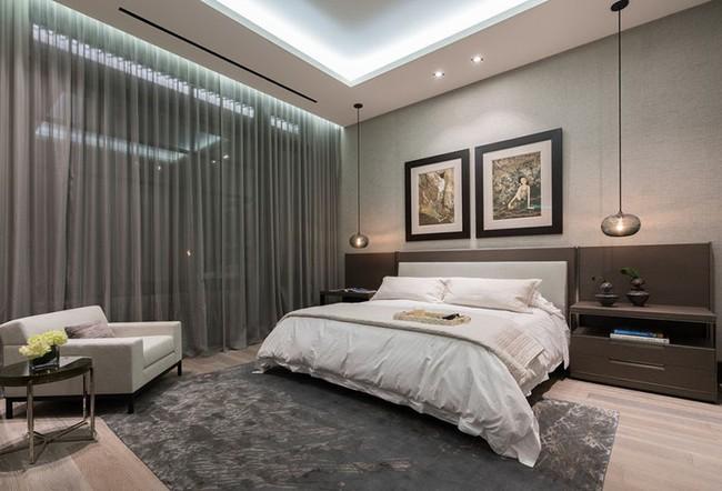 Thử mà xem phòng ngủ đẹp biết mấy nhờ đèn thả trang trí - Ảnh 11.
