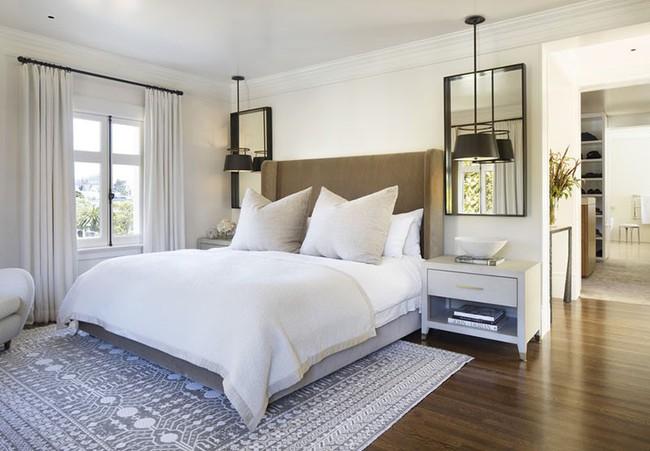 Thử mà xem phòng ngủ đẹp biết mấy nhờ đèn thả trang trí - Ảnh 12.