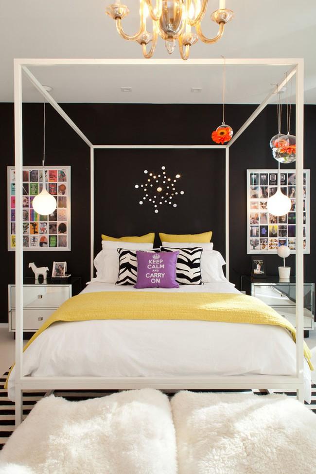 Thử mà xem phòng ngủ đẹp biết mấy nhờ đèn thả trang trí - Ảnh 14.