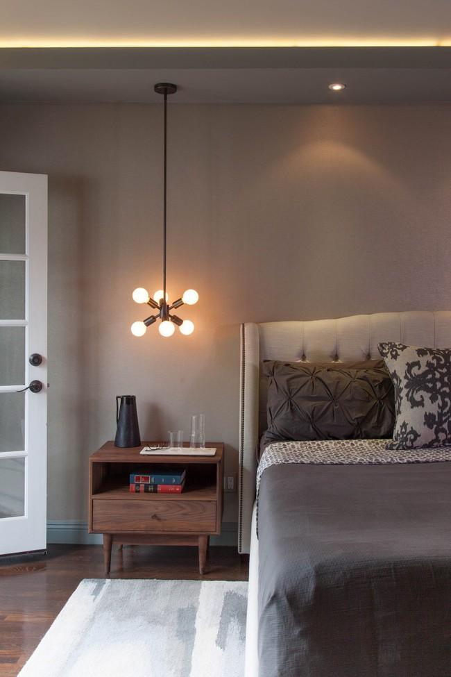 Thử mà xem phòng ngủ đẹp biết mấy nhờ đèn thả trang trí - Ảnh 16.