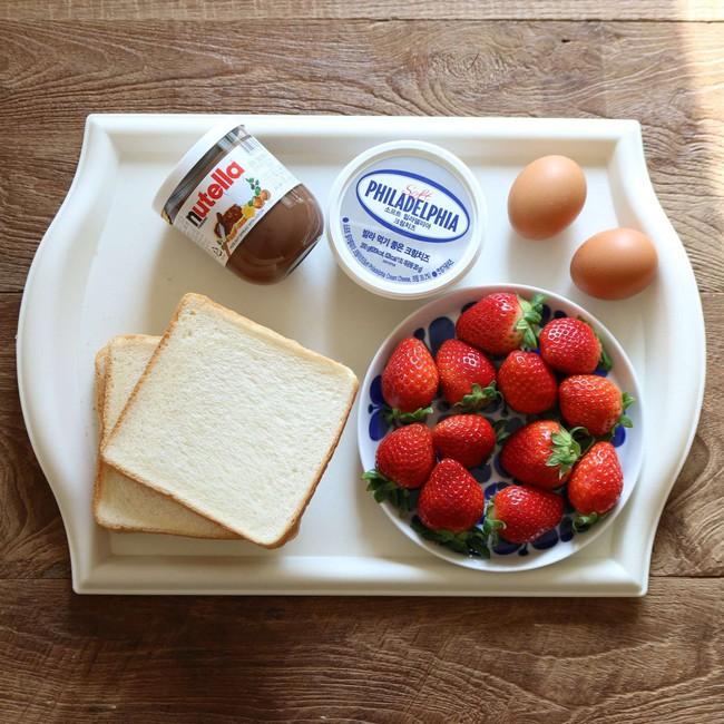 Bữa sáng cuối tuần sang chảnh với bánh mì phong cách Hàn Quốc ngon lạ - Ảnh 1.