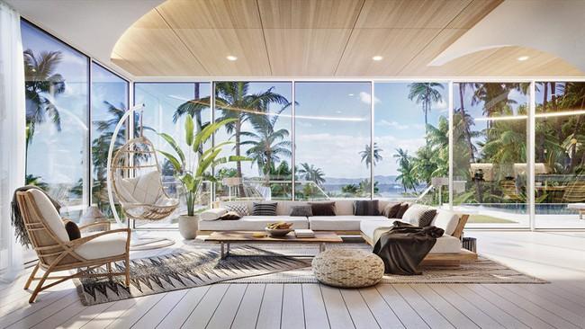 Biệt thự nhiệt đới tuyệt đẹp dựa trên nguyên tắc thiết kế cổ xưa - Ảnh 1.
