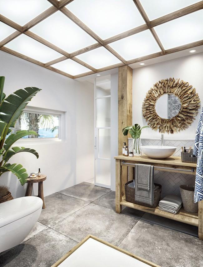 Biệt thự nhiệt đới tuyệt đẹp dựa trên nguyên tắc thiết kế cổ xưa - Ảnh 10.