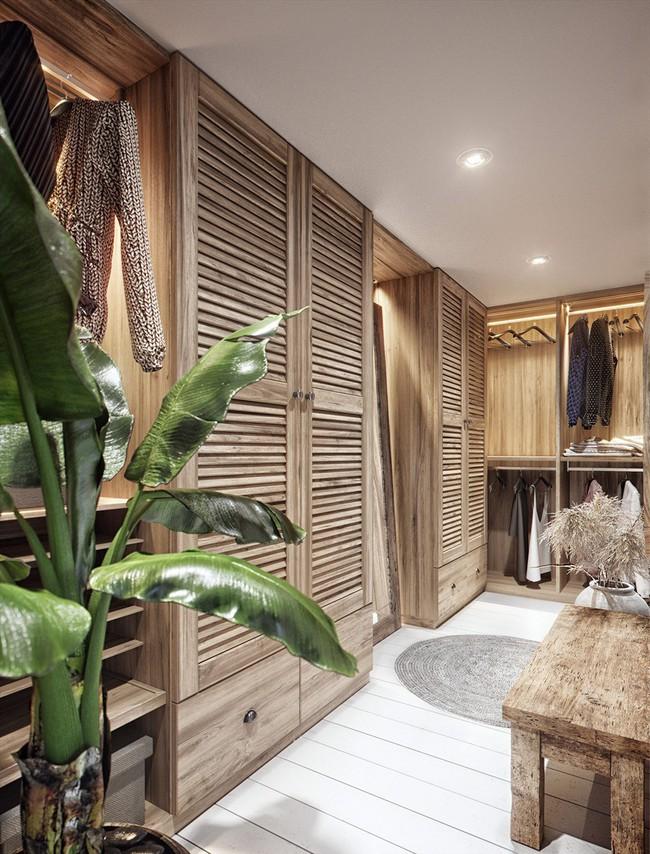 Biệt thự nhiệt đới tuyệt đẹp dựa trên nguyên tắc thiết kế cổ xưa - Ảnh 12.