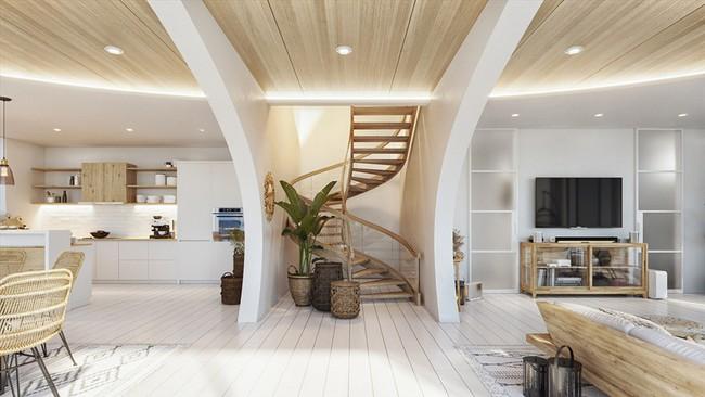 Biệt thự nhiệt đới tuyệt đẹp dựa trên nguyên tắc thiết kế cổ xưa - Ảnh 5.