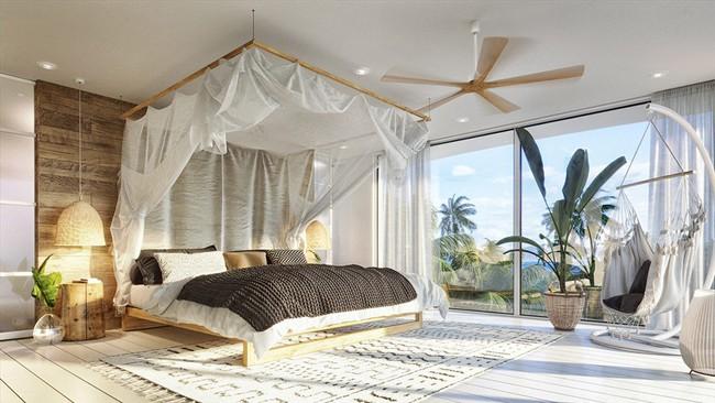 Biệt thự nhiệt đới tuyệt đẹp dựa trên nguyên tắc thiết kế cổ xưa - Ảnh 7.