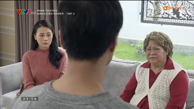 Nàng dâu order tập 3: Hồ ly tinh mang bầu con trai, thái độ của bà nội chồng Lan Phương khiến khán giả muốn tắt TV - Ảnh 4.
