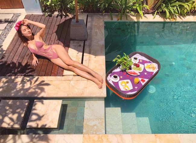 Phương Trinh Jolie gây sốt khi tập yoga dưới nước, hóa ra bí quyết giữ dáng của diễn viên xinh đẹp này rất đơn giản! - Ảnh 16.