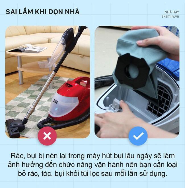 5 sai lầm khi dọn dẹp nhà cửa khiến nhà càng dọn càng bẩn hơn - Ảnh 5.
