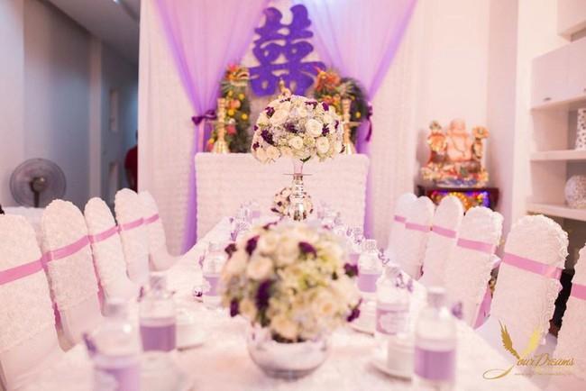 Gợi ý trang trí nhà đám cưới theo tông màu  - Ảnh 3.