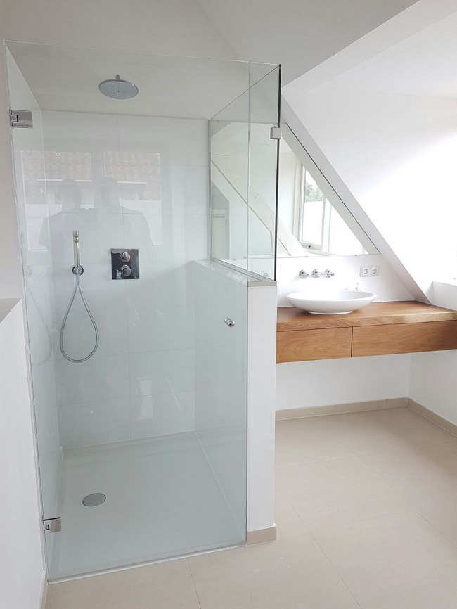 Tận dụng gác mái làm phòng tắm, ý tưởng thiết kế vừa đẹp vừa độc đáo ngại gì mà không thử - Ảnh 11.