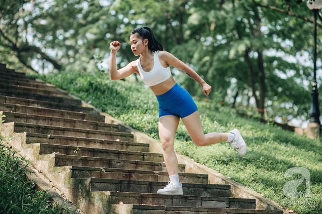 Cô gái 9x lọt vào chung kết cuộc thi Fitness Model 2019 chia sẻ bí quyết giảm nhanh 7kg trong 2 tháng siêu ấn tượng - Ảnh 4.