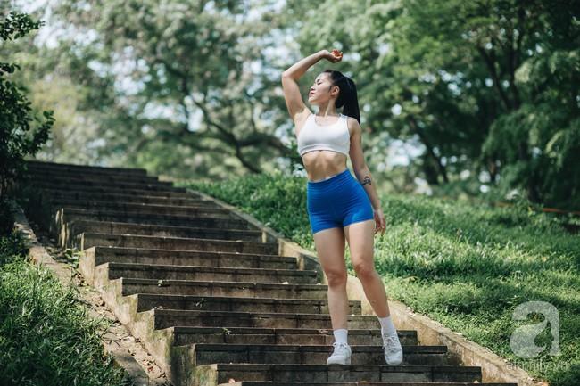 Cô gái 9x lọt vào chung kết cuộc thi Fitness Model 2019 chia sẻ bí quyết giảm nhanh 7kg trong 2 tháng siêu ấn tượng - Ảnh 17.