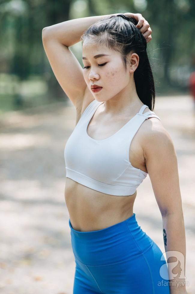 Cô gái 9x lọt vào chung kết cuộc thi Fitness Model 2019 chia sẻ bí quyết giảm nhanh 7kg trong 2 tháng siêu ấn tượng - Ảnh 18.