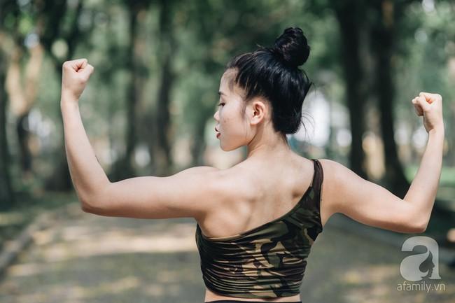 Cô gái 9x lọt vào chung kết cuộc thi Fitness Model 2019 chia sẻ bí quyết giảm nhanh 7kg trong 2 tháng siêu ấn tượng - Ảnh 21.