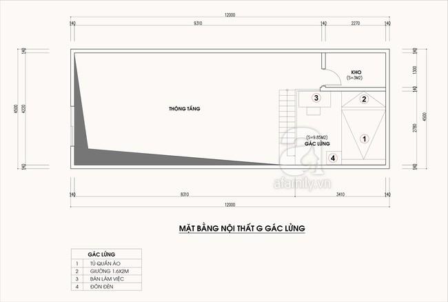 Tư vấn thiết kế cải tạo nhà cấp 4 có diện tích 54m², vừa kinh doanh vừa để ở cho gia đình 4 người - Ảnh 2.