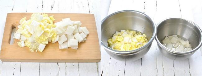 Học cách làm món dưa góp kiểu Hàn, ăn với gì cũng ngon - Ảnh 1.