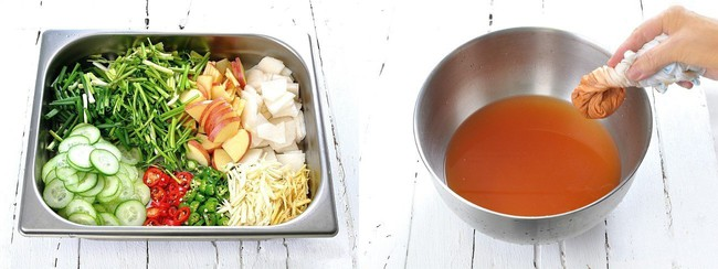 Học cách làm món dưa góp kiểu Hàn, ăn với gì cũng ngon - Ảnh 2.