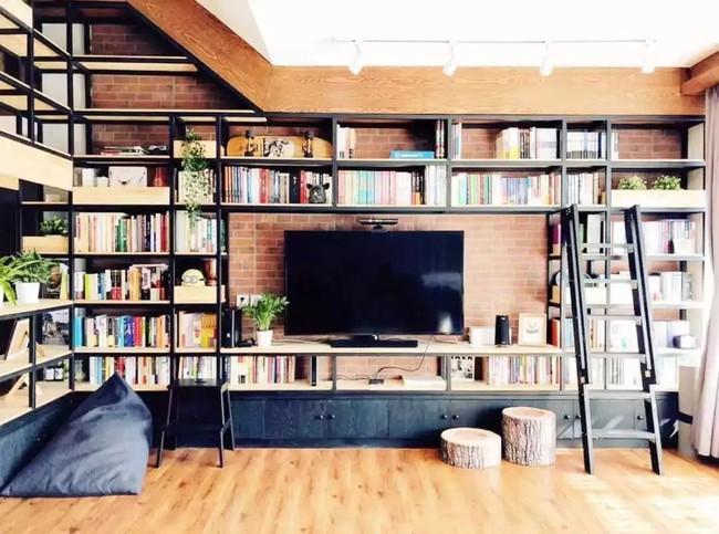 Căn hộ 170m² được thiết kế lý tưởng dành cho những cặp vợ chồng yêu thích đọc sách - Ảnh 7.