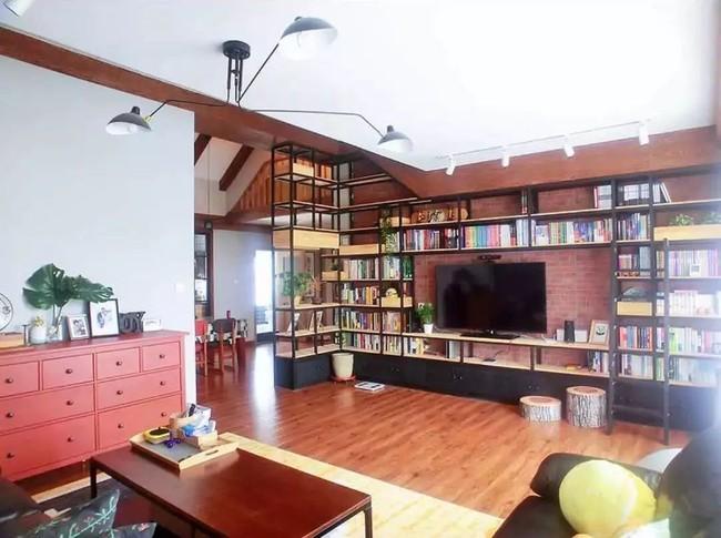 Căn hộ 170m² được thiết kế lý tưởng dành cho những cặp vợ chồng yêu thích đọc sách - Ảnh 6.