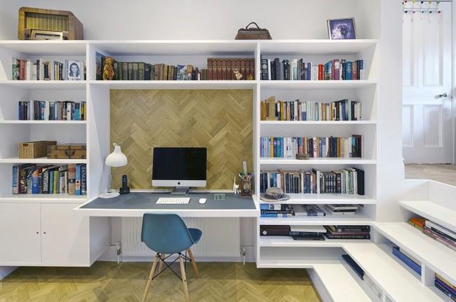 Tận dụng cầu thang thành tủ sách đang trở thành xu hướng, có thiết kế khiến giới mộ điệu phải ngạc nhiên vì sự hoành tráng đến không tưởng - Ảnh 19.