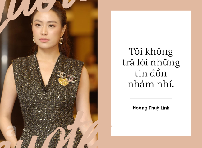 Hoàng Thùy Linh lần đầu phản ứng trước tin đồn là người thứ ba; Phạm Quỳnh Anh triết lý về phụ nữ hậu hôn nhân - Ảnh 1.