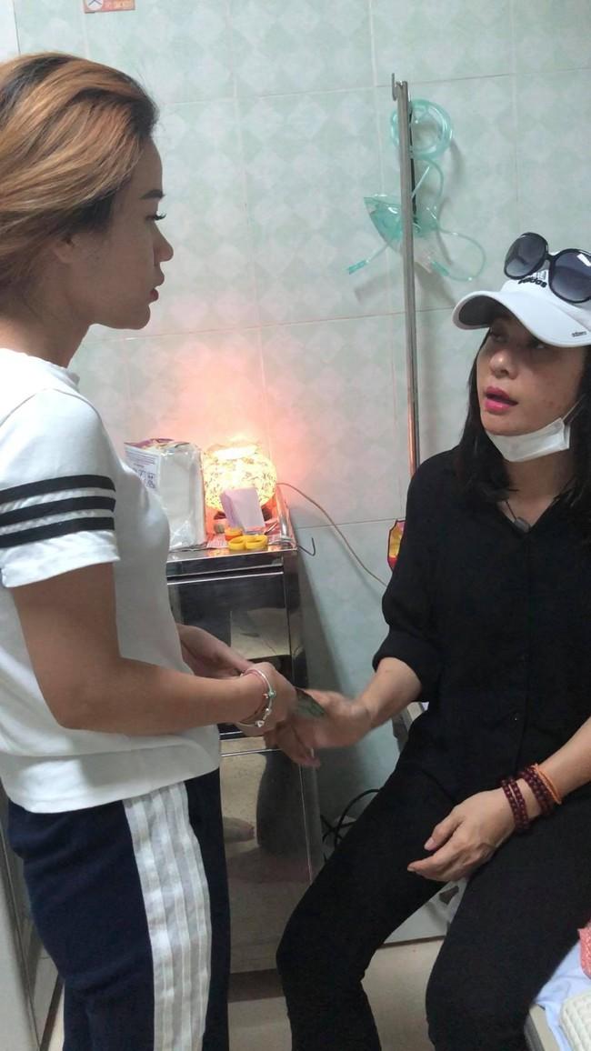 Xót xa trước thông tin nghệ sĩ Lê Bình không còn ăn uống được gì, con gái thay mặt gia đình từ chối nhận tiền hỗ trợ - Ảnh 2.