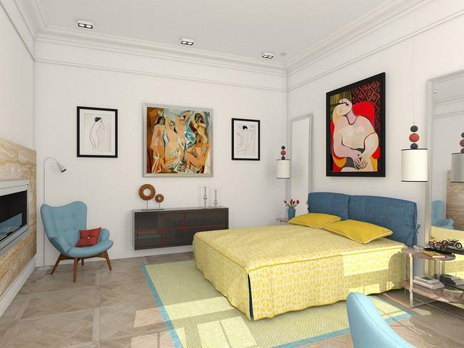2 thiết kế phòng ngủ theo phong cách cổ điển khiến bạn không thể rời mắt - Ảnh 2.