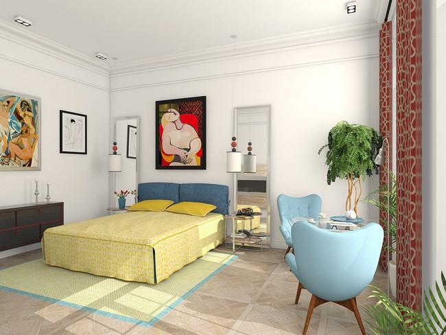2 thiết kế phòng ngủ theo phong cách cổ điển khiến bạn không thể rời mắt - Ảnh 3.