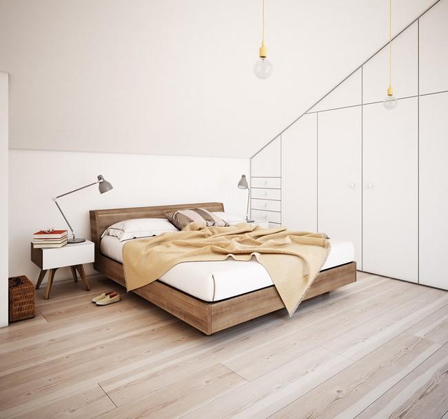 2 thiết kế phòng ngủ theo phong cách cổ điển khiến bạn không thể rời mắt - Ảnh 7.