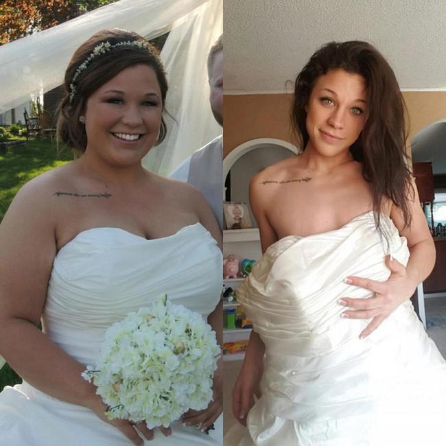 Từng sở hữu số cân lên tới 108kg, điều gì đã giúp bà mẹ trẻ này giảm xuống chỉ còn 68kg? - Ảnh 1.