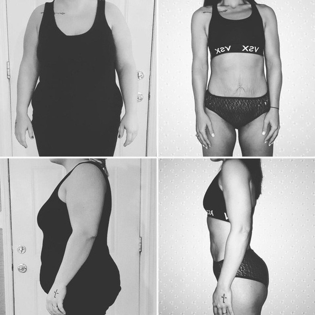 Từng sở hữu số cân lên tới 108kg, điều gì đã giúp bà mẹ trẻ này giảm xuống chỉ còn 68kg? - Ảnh 4.