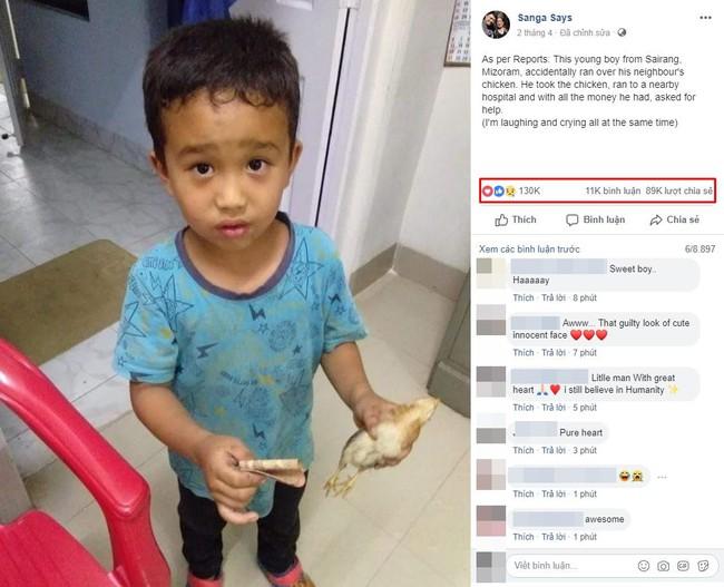 Vô tình tông xe đạp vào chú gà con, cậu bé 6 tuổi mếu máo vét hết tiền tiết kiệm đưa đi cấp cứu - Ảnh 2.