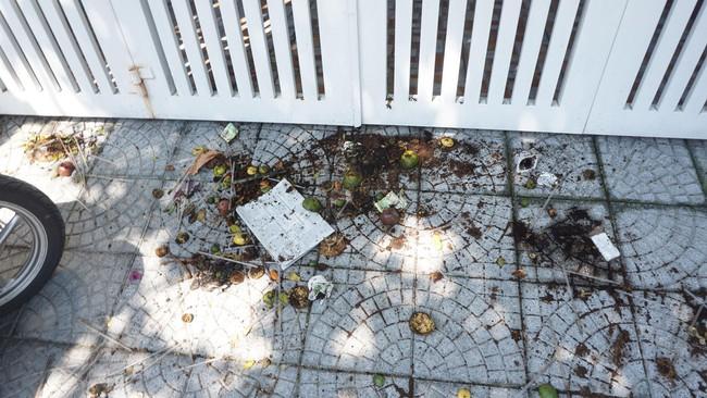 Vụ bé gái bị sàm sỡ trong thang máy: Hết thi nhau chụp ảnh, người dân lại ném chất bẩn, xịt sơn lên tường nhà ông Linh - Ảnh 3.