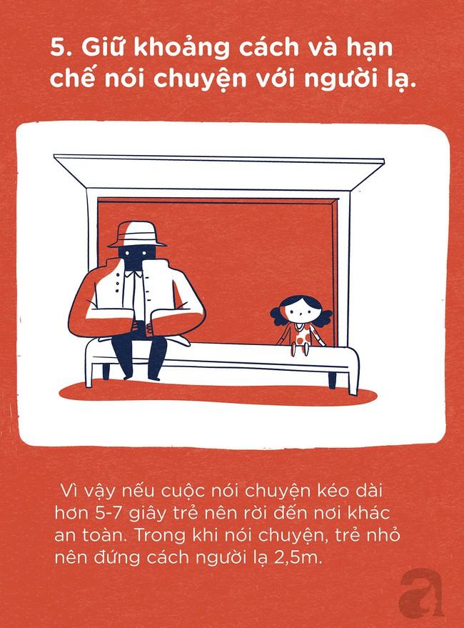 Trọn bộ bí kíp tự bảo vệ mình: Trang bị ngay cho con để trẻ có thể tự bảo vệ mình ở bất cứ đâu và bất cứ hoàn cảnh nào - Ảnh 5.