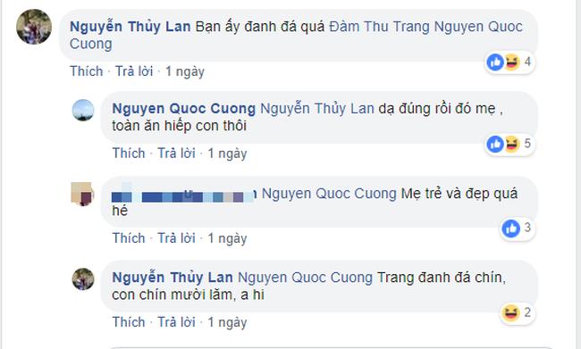 Vừa tung ảnh cưới ngọt ngào, Cường Đô La đã ấm ức mách mẹ vợ bị Đàm Thu Trang bắt nạt - Ảnh 2.