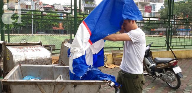 Người phát hiện bé trai sơ sinh trong thùng rác giữa trời mưa lớn: Suýt chút nữa là thằng bé bị chôn sống rồi - Ảnh 3.