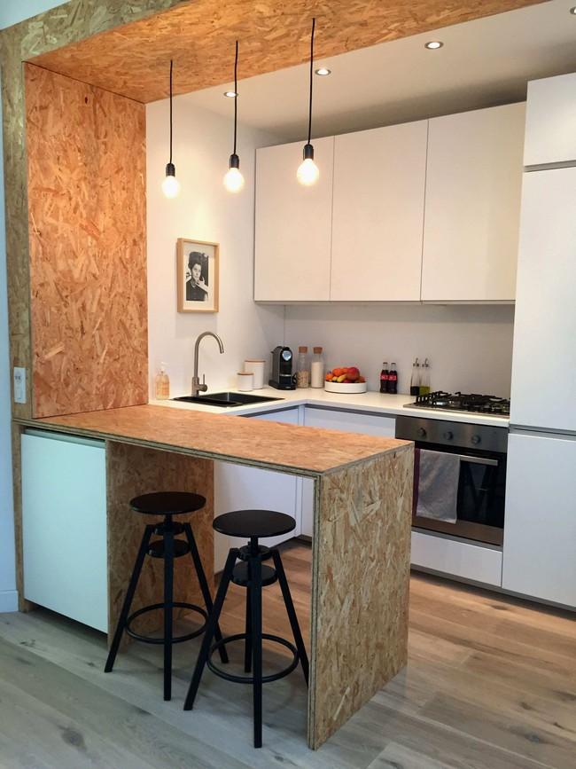 9 phòng bếp nhỏ xíu nhưng nhìn là mê, rất đáng tham khảo cho nhà chật - Ảnh 1.